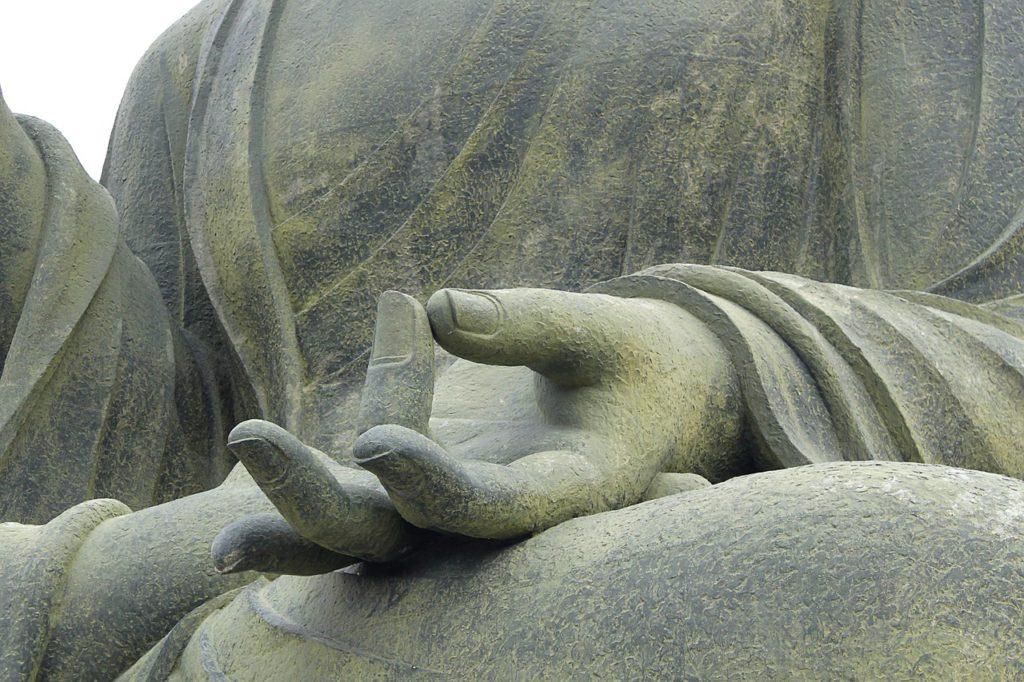 meditation, buddha, hand